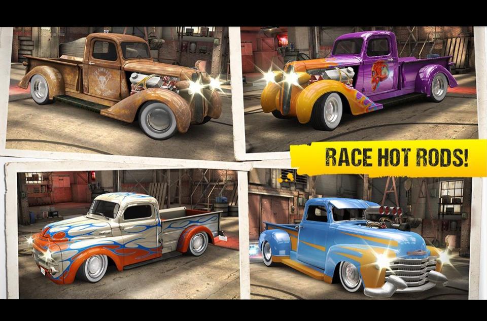 классические машины гонки