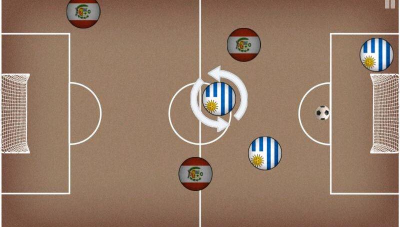 Pocket Soccer - Настольный футбол